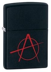 Зажигалка ZIPPO Classic А с покрытием Black Matte, латунь/сталь, чёрная, матовая, 36x12x56 мм
