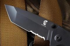 Складной нож OTAVA с серрейтором, Mr.Blade, фото 2