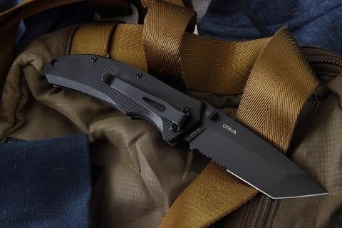 Фото 8 - Складной нож OTAVA с серрейтором, Mr Blade от Mr.Blade