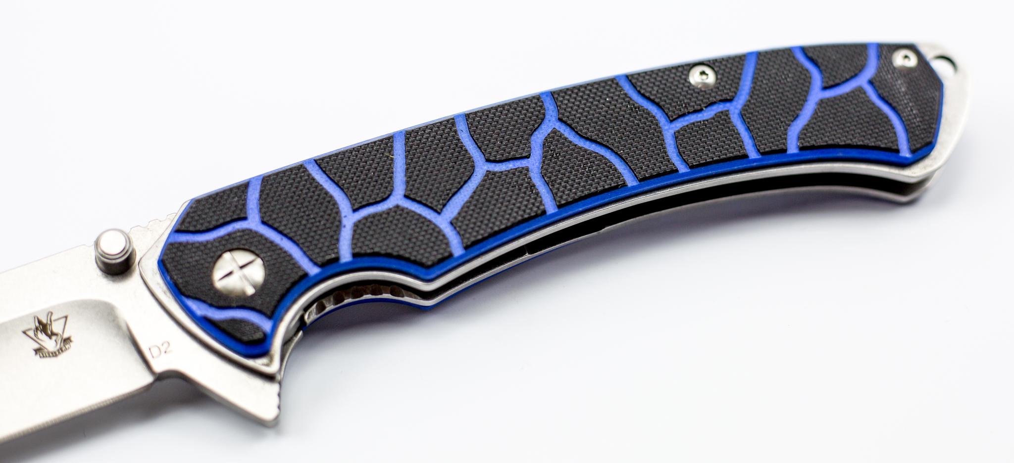 Фото 10 - Нож Лед-2, D2 от Steelclaw