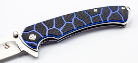 Складной нож Лед-2, сталь D2. Вид 4