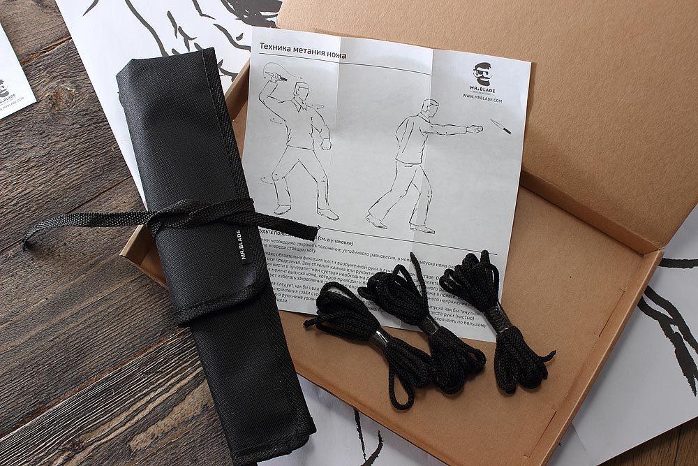 Фото 12 - Набор ножей для метания Crystal satin от Mr.Blade