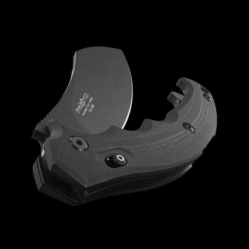 Фото 11 - Складной нож Fox Anunnaki, сталь N690, рукоять стеклотекстолит G-10, чёрный