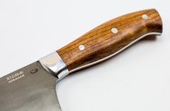 Нож шефа кухонный MT-42, бубинго, кованая сталь Х12МФ, фото 2