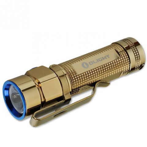 Фонарь Olight S1A-CU Rose Gold золотой. Вид 10