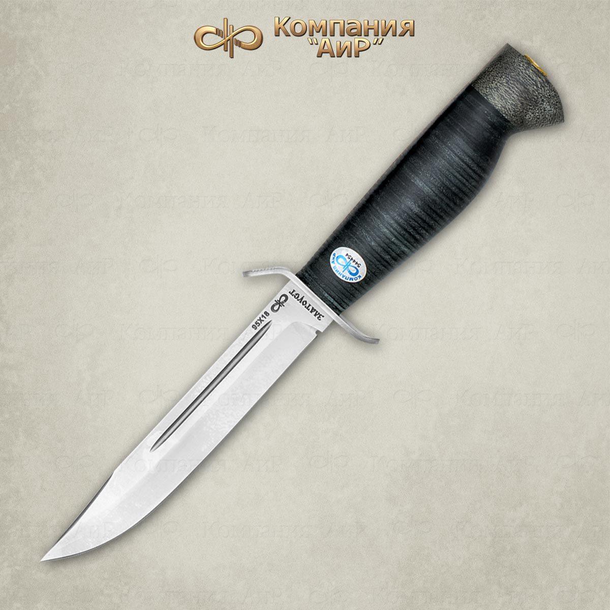 Нож Штрафбат, кожа, 95х18