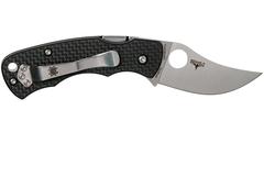 Нож складной REINHOLD RHINO™ Spyderco 210CFP, сталь Carpenter CTS™ - XHP Micro-Melt® Alloy Satin Plain, рукоять карбон/G10, чёрный, фото 8