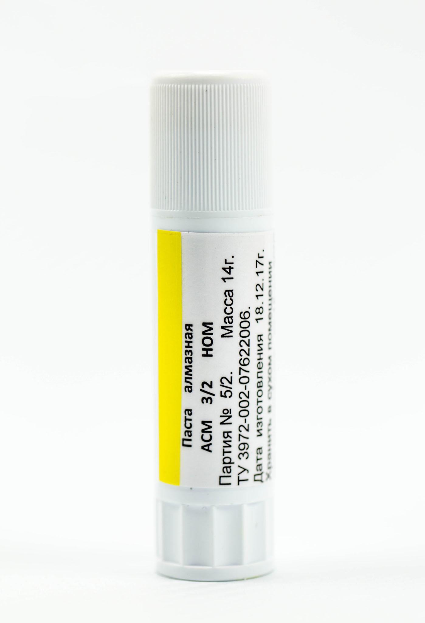 Алмазная паста HOM ACM 3/2, 14 гр. от Веневский  завод алмазных инструментов