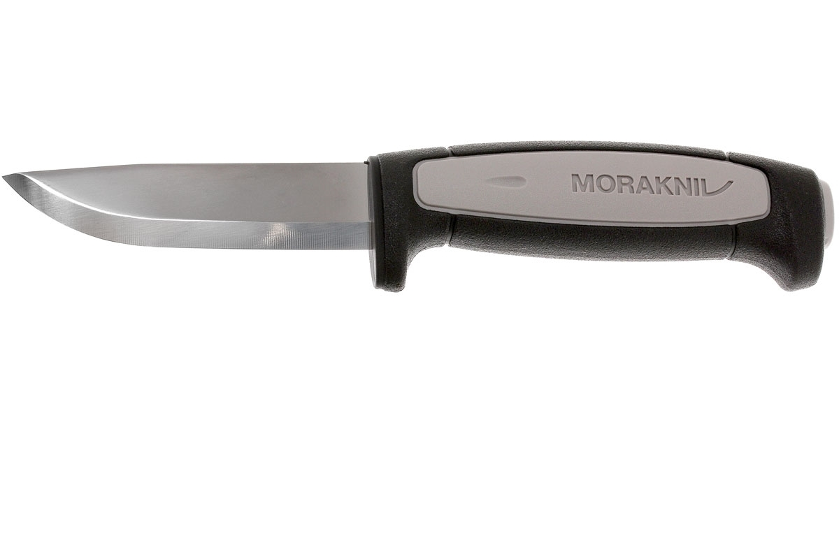 Фото 10 - Нож с фиксированным лезвием Morakniv Robust, углеродистая сталь, рукоять резина/пластик