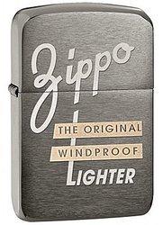 Зажигалка ZIPPO Original, латунь с покрытием 1941 Replica™ Black Ice, серый, матовая, 36х12x56 мм зажигалка replica black ice
