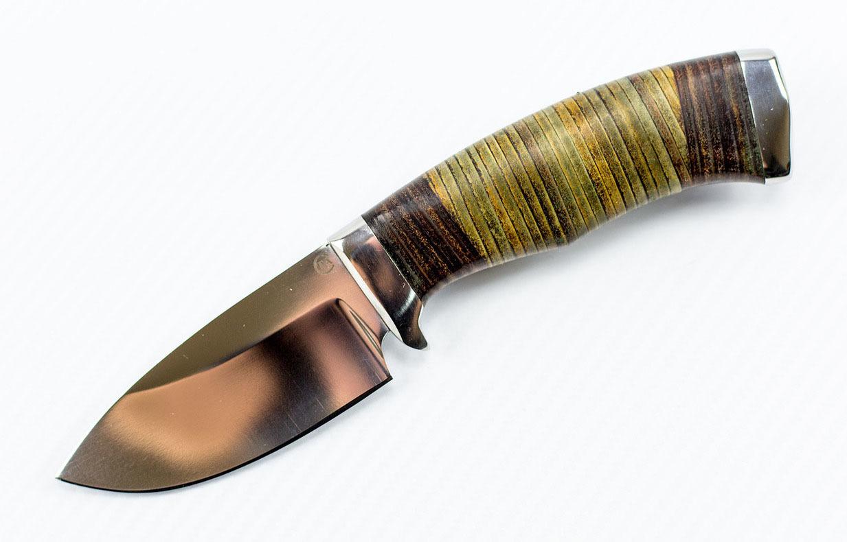 Нож Барсук-3, сталь D2, кожа