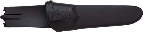 Нож с фиксированным лезвием Morakniv Flex, сталь Sandvik 12C27, рукоять резина/пластик, светло-синий