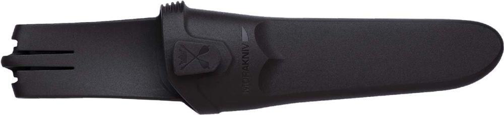 Фото 5 - Нож с фиксированным лезвием Morakniv Flex, сталь Sandvik 12C27, рукоять резина/пластик, светло-синий