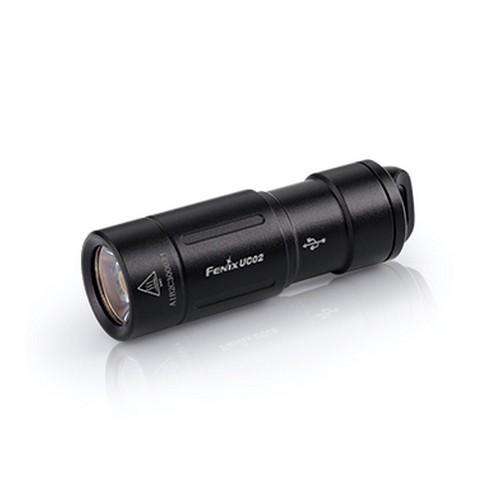 Фонарь Fenix UC02 Cree XP-G2 S2, черный аккумулятор fenix 10180 80mah arb l10 80