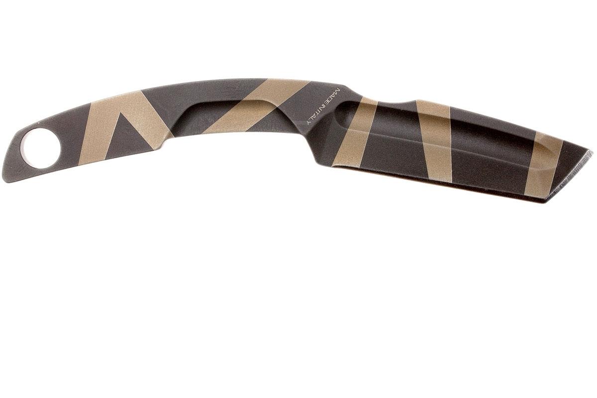 Фото 8 - Нож с фиксированным клинком Extrema Ratio N.K.3 Desert Warfare, сталь Bohler N-690, цельнометаллический