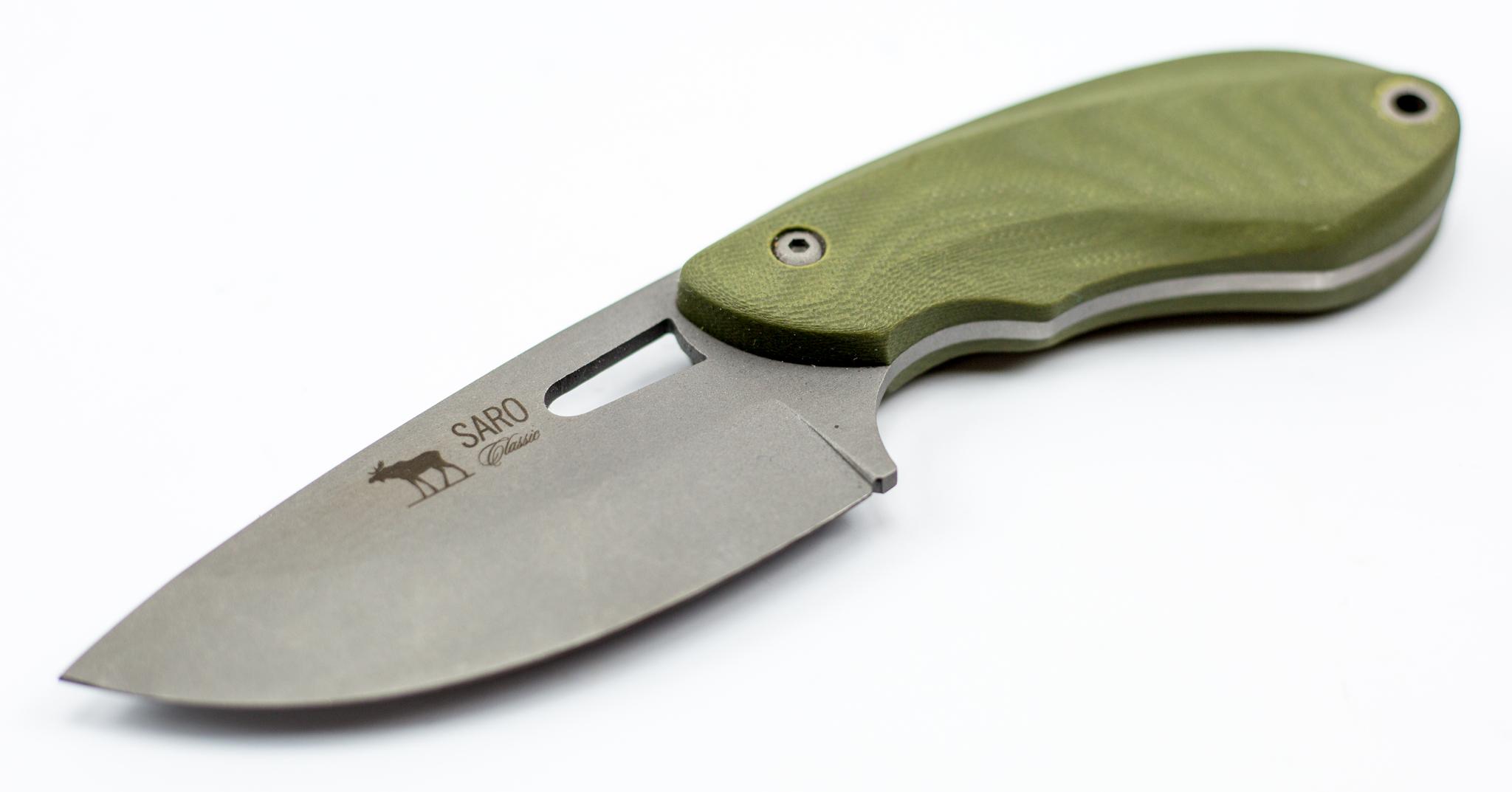 Фото 14 - Нож «Куница», хамелеон от САРО