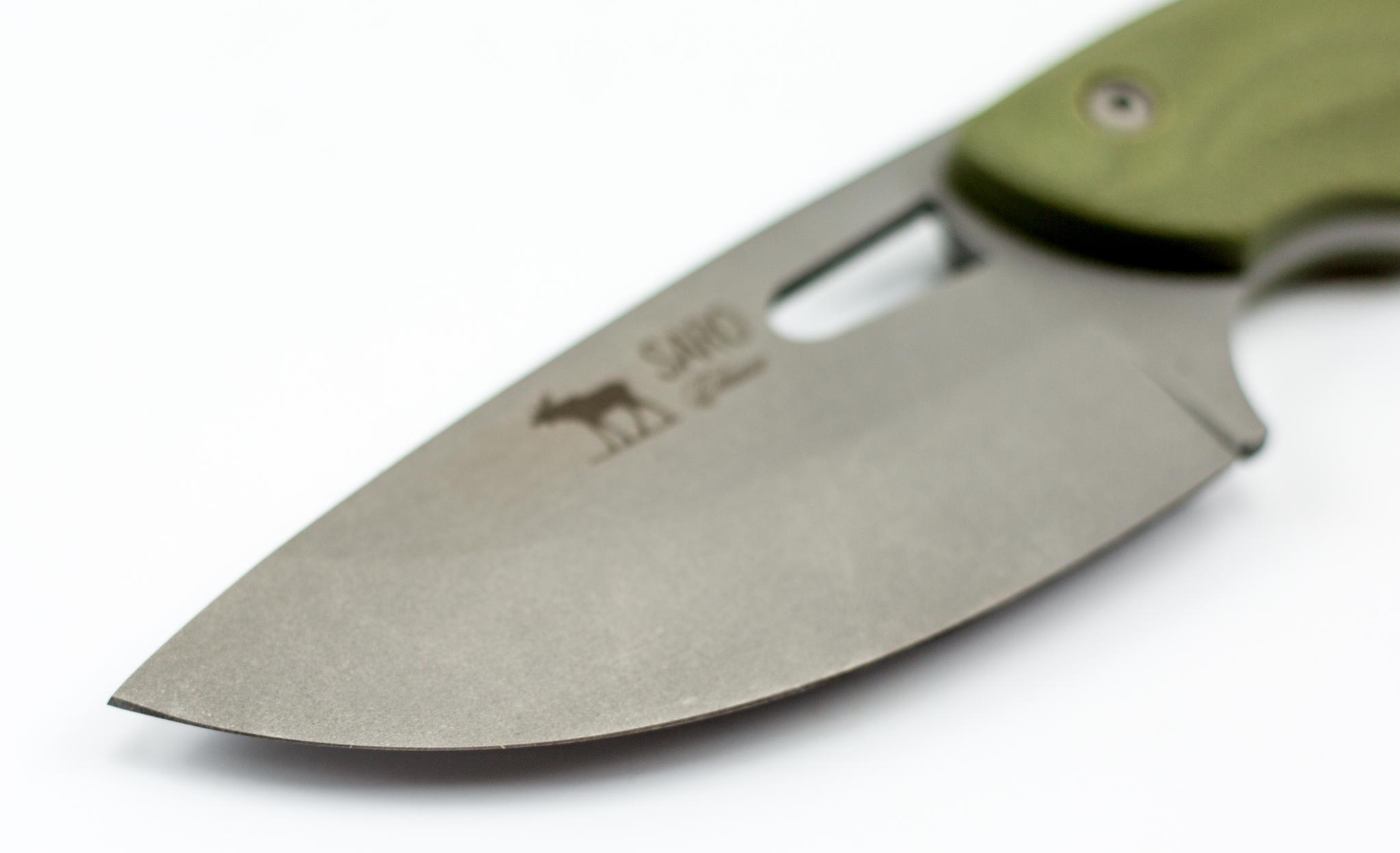 Фото 16 - Нож «Куница», хамелеон от САРО