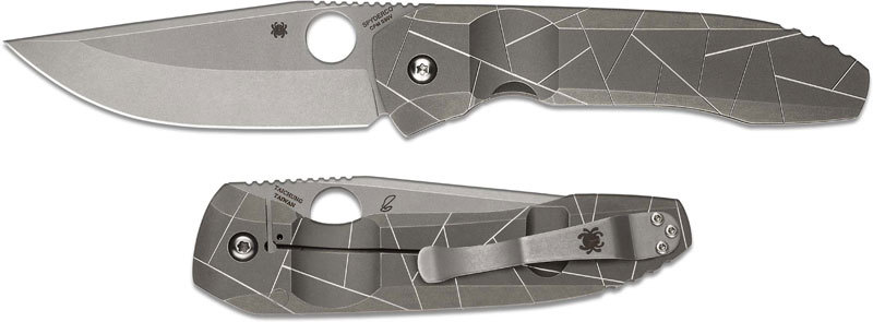 Складной нож Spyderco Nirvana