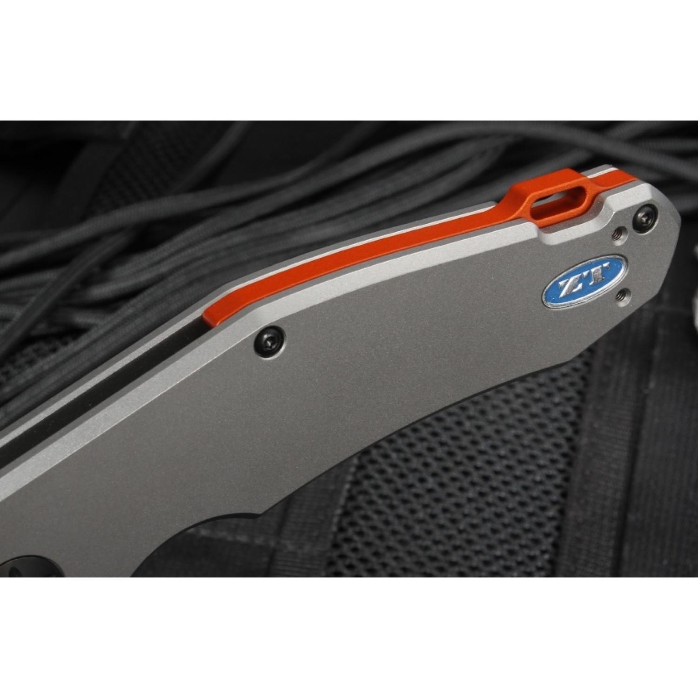Фото 12 - Нож складной Zero Tolerance 0220, сталь CPM-S35VN, рукоять титан