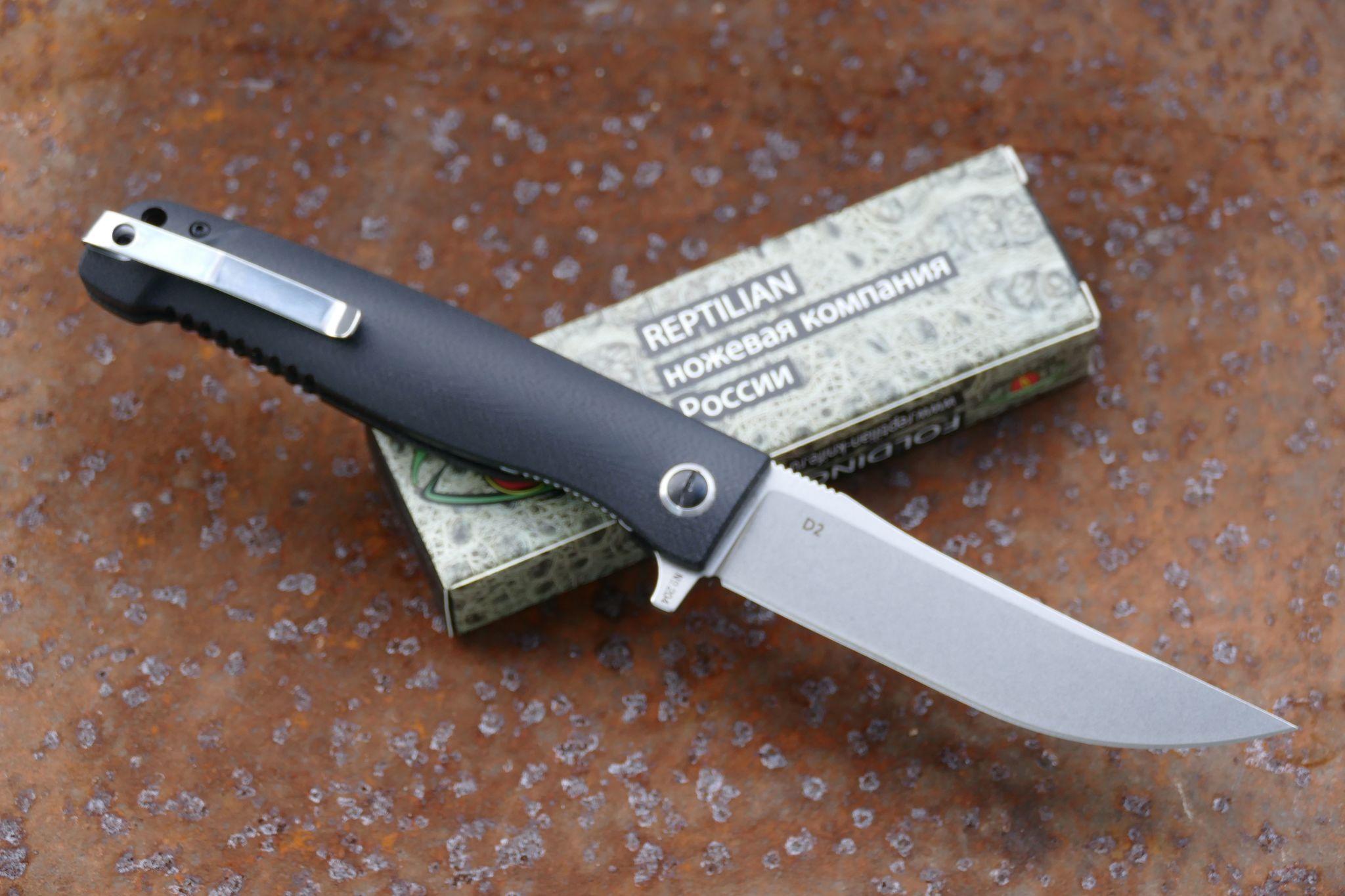 Фото 8 - Складной нож Карат 2 от Reptilian