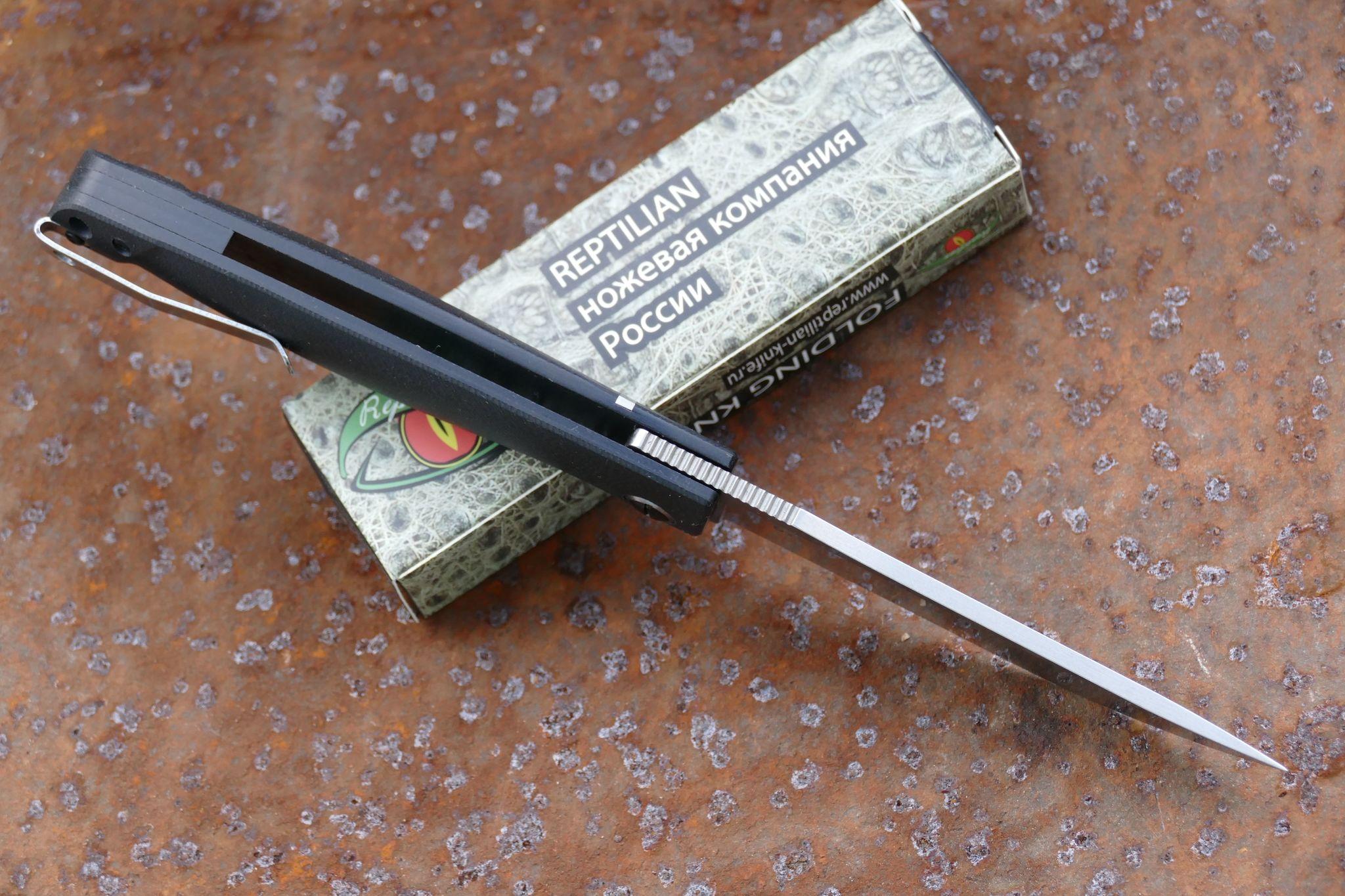 Фото 10 - Складной нож Карат 2 от Reptilian