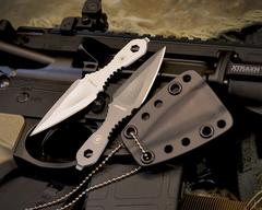 Шейный нож Spartan Blades Velos, black