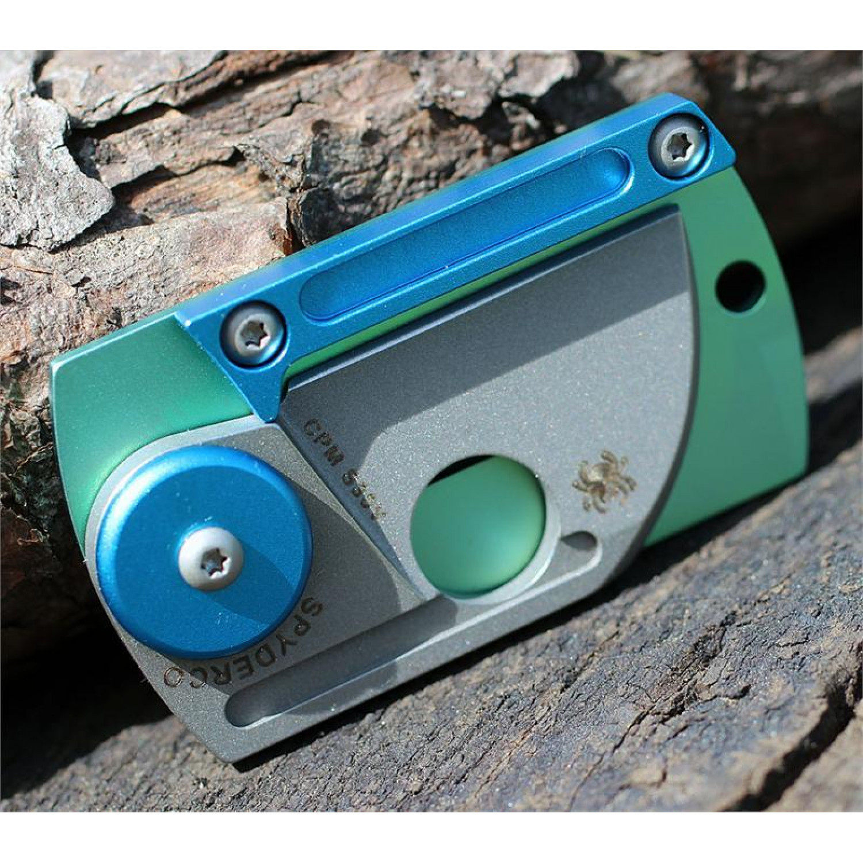 Фото 11 - Складной нож-брелок Dog Tag Folder - Spyderco С188ALTIP, сталь CPM S30V, рукоять титан/алюминий