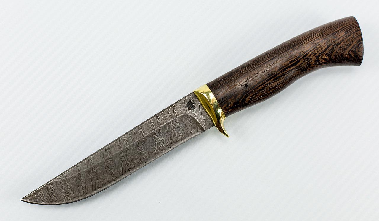 Фото 11 - Нож Мангуст-2 дамаск от Мастерская Климентьева