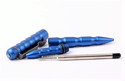 Тактическая ручка Boker Plus MPP (Multi-Purpose Pen) Blue - 09BO068, анодированный алюминий, синий. Вид 7