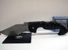 Складной нож Spartan Folding Kopis, Stonewashed Japanese Aus-8A Steel, Black Grivory® Handle 11.43 см. - Nozhikov.ru