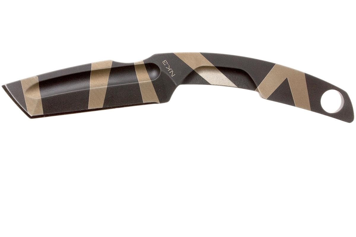 Фото 9 - Нож с фиксированным клинком Extrema Ratio N.K.3 Desert Warfare, сталь Bohler N-690, цельнометаллический