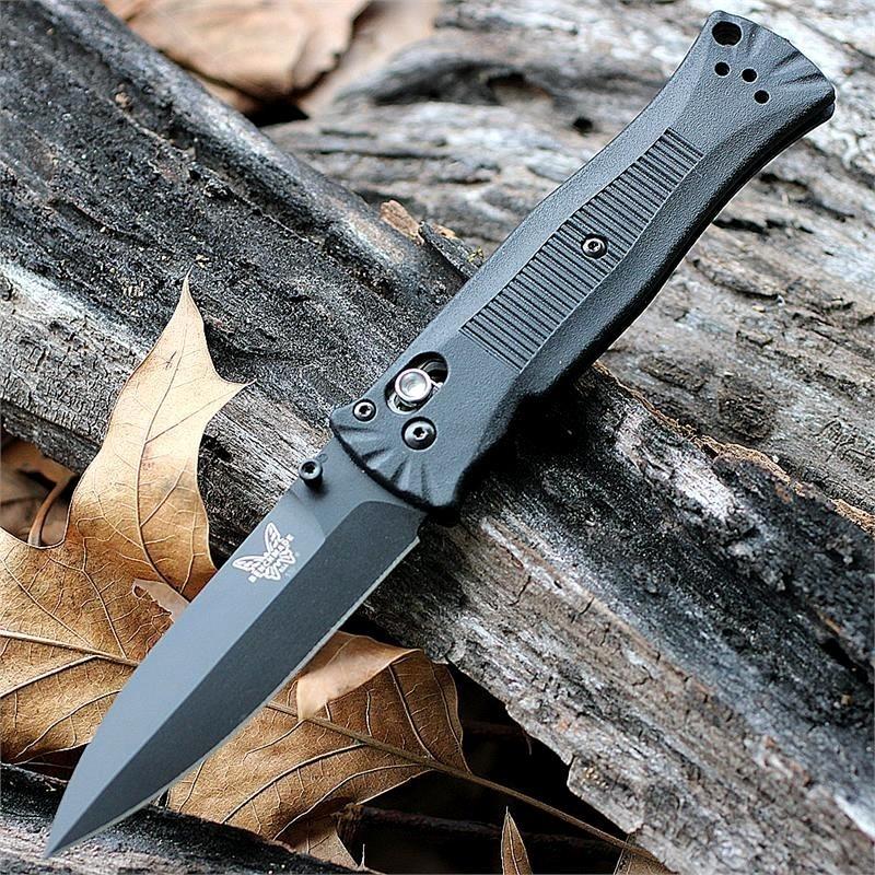 Фото 4 - Складной нож Benchmade 530BK Pardue Black, сталь 154CM, рукоять пластик