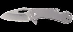 Складной нож CRKT Bev-Edge, сталь 8Cr13MoV, рукоять нержавеющая сталь, фото 2