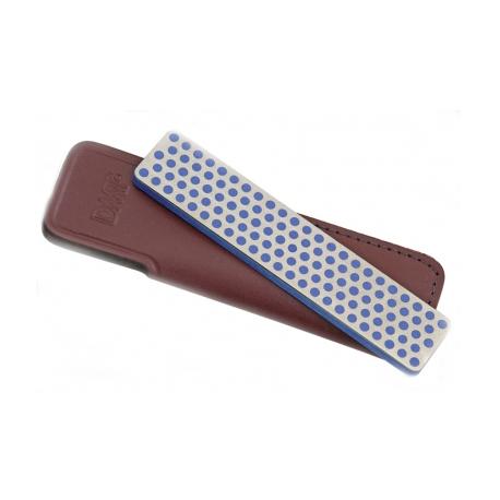 Фото 6 - Алмазный брусок DMT, 2 зоны заточки, 325 меш, 45 мкм, в кожаном чехле от DMT® Diamond Machining Technology