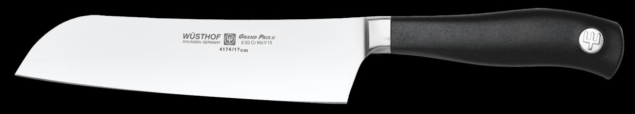 Нож Сантоку Grand Prix II 4174, 170 мм планка примыкания grand line velur20 ral 5005 250х150 мм резка