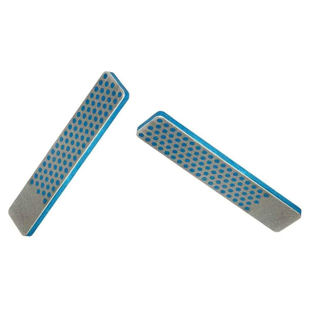 Фото 8 - Алмазный брусок DMT, 2 зоны заточки, 325 меш, 45 мкм, в кожаном чехле от DMT® Diamond Machining Technology