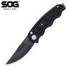 Автоматический складной нож SOG-TAC Mini Auto - Black TiNi 7.6 см. - Nozhikov.ru