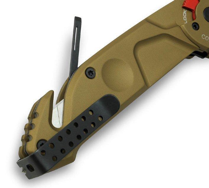 Фото 4 - Складной нож MF1 With Belt Cutter, Desert Warfare от Extrema Ratio
