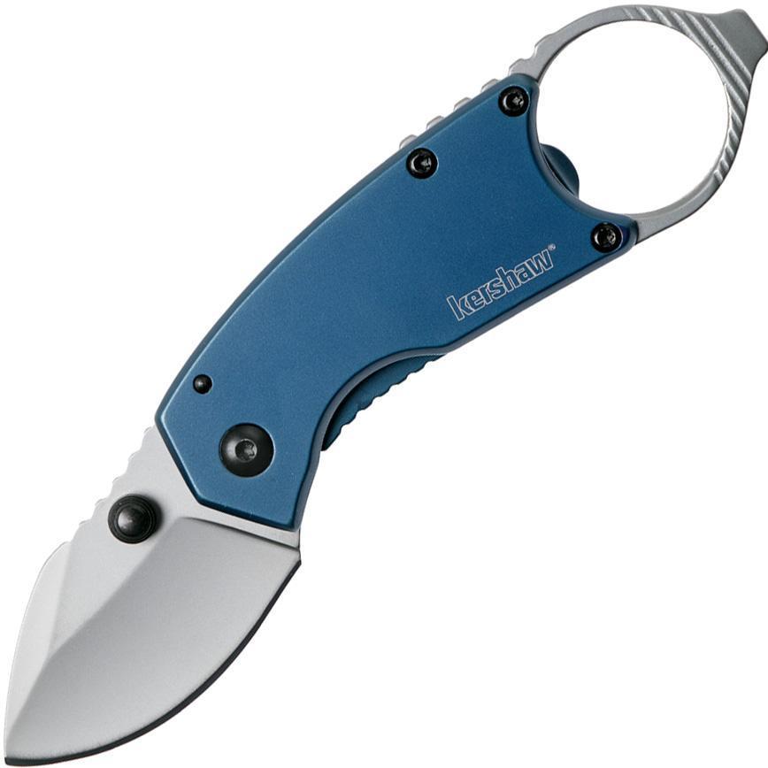 Фото - Нож складной Antic - Kershaw 8710, сталь 8Cr13MoV, рукоять нержавеющая сталь, синий