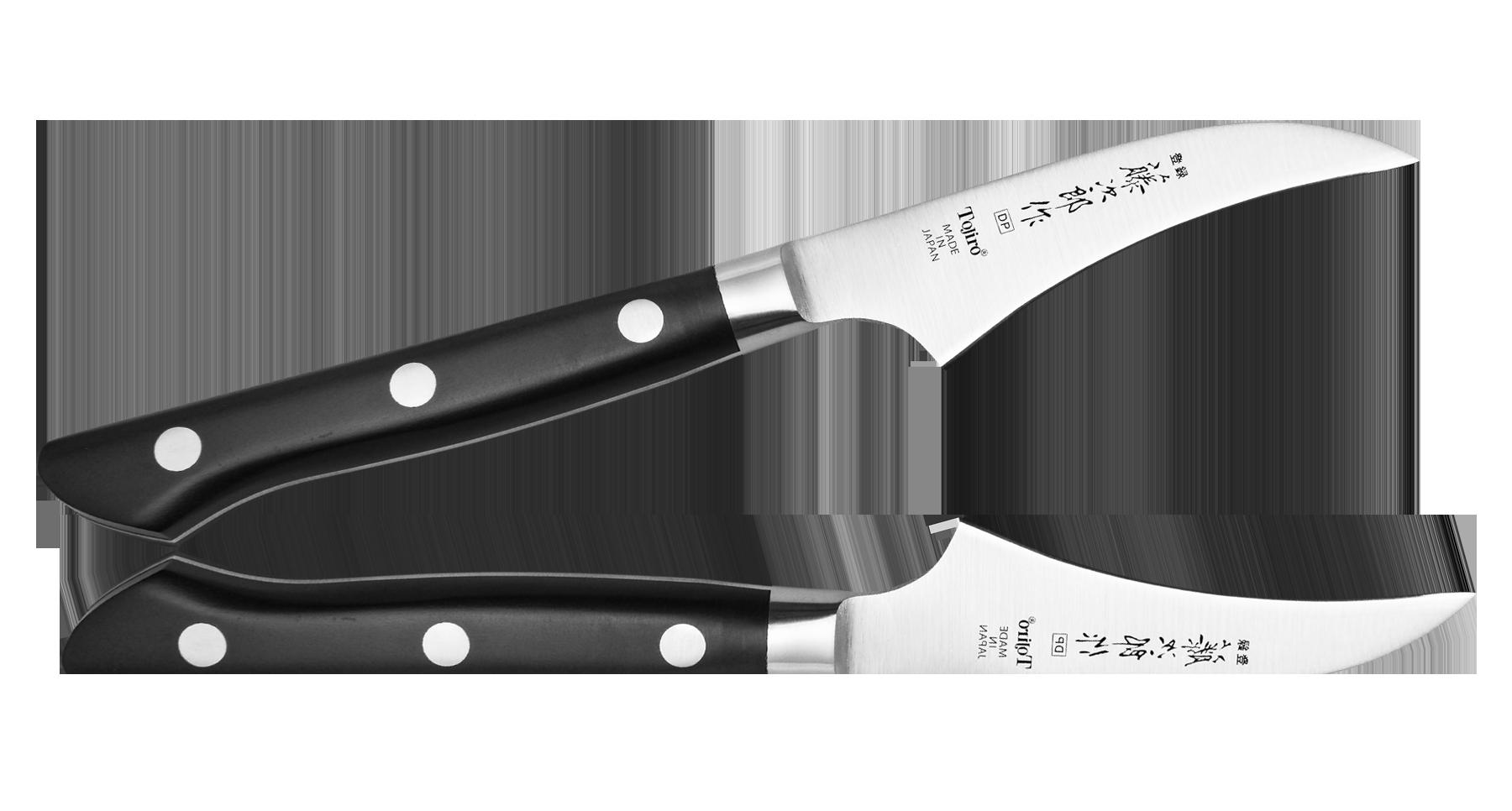 Нож для чистки овощей Western Knife Tojiro, 70 мм, сталь VG-10 нож для чистки овощей tojiro flash 70 мм сталь vg 10