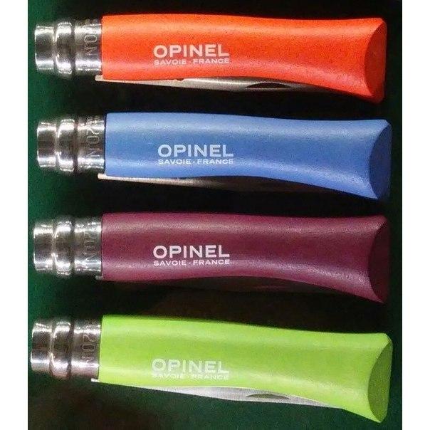 Фото 4 - Нож складной Opinel №7 VRI Colored Tradition Green apple