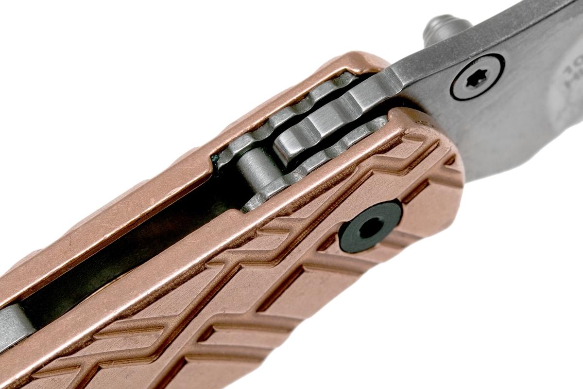 Фото 10 - Складной нож Cinder Copper KERSHAW 1025CUX Designed by Rick Hinderer, сталь 3Cr13, рукоять медь