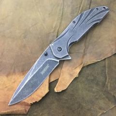 Нож складной Blend Flipper - Kershaw 1327, сталь 8Cr13MoV, рукоять нержавеющая сталь, фото 8