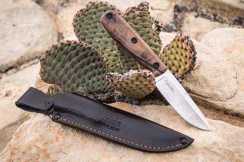 Туристический нож Colada K340 SW, орех, Kizlyar Supreme. Вид 8