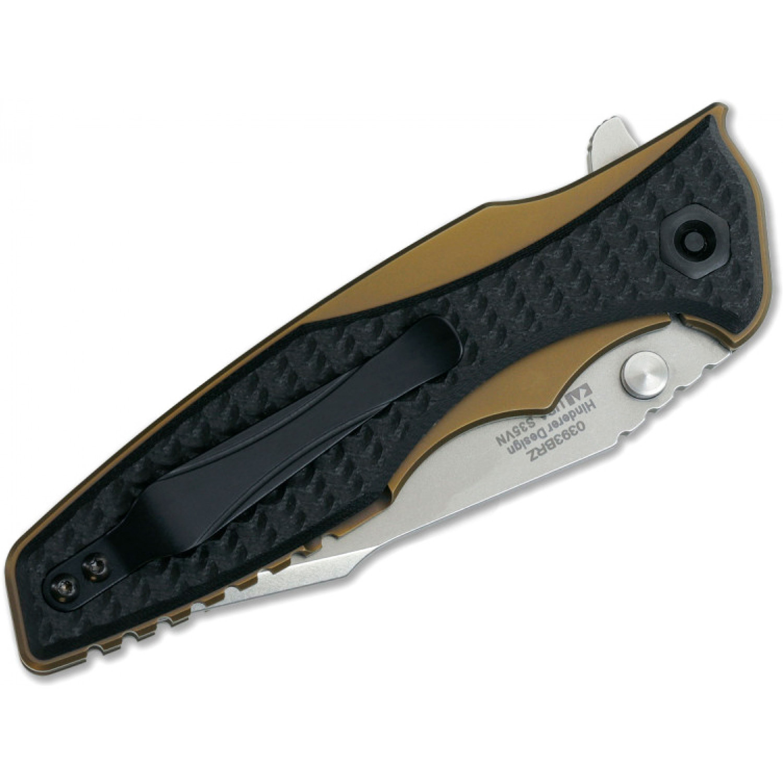 Фото 4 - Складной нож ZT 0393BRZ, сталь CPM S35VN, рукоять титан/G-10 от Zero Tolerance