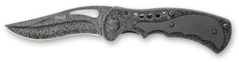 Нож складной Stinger, 85 мм (серебр.-черн.), рукоять: сталь/пластик (черн.), с клипом, коробка картон