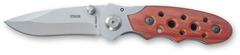 Нож складной Stinger YD-1219H, сталь 420, дерево пакка