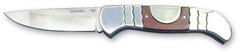 Нож складной Stinger YD-5033, сталь 420, дерево пакка