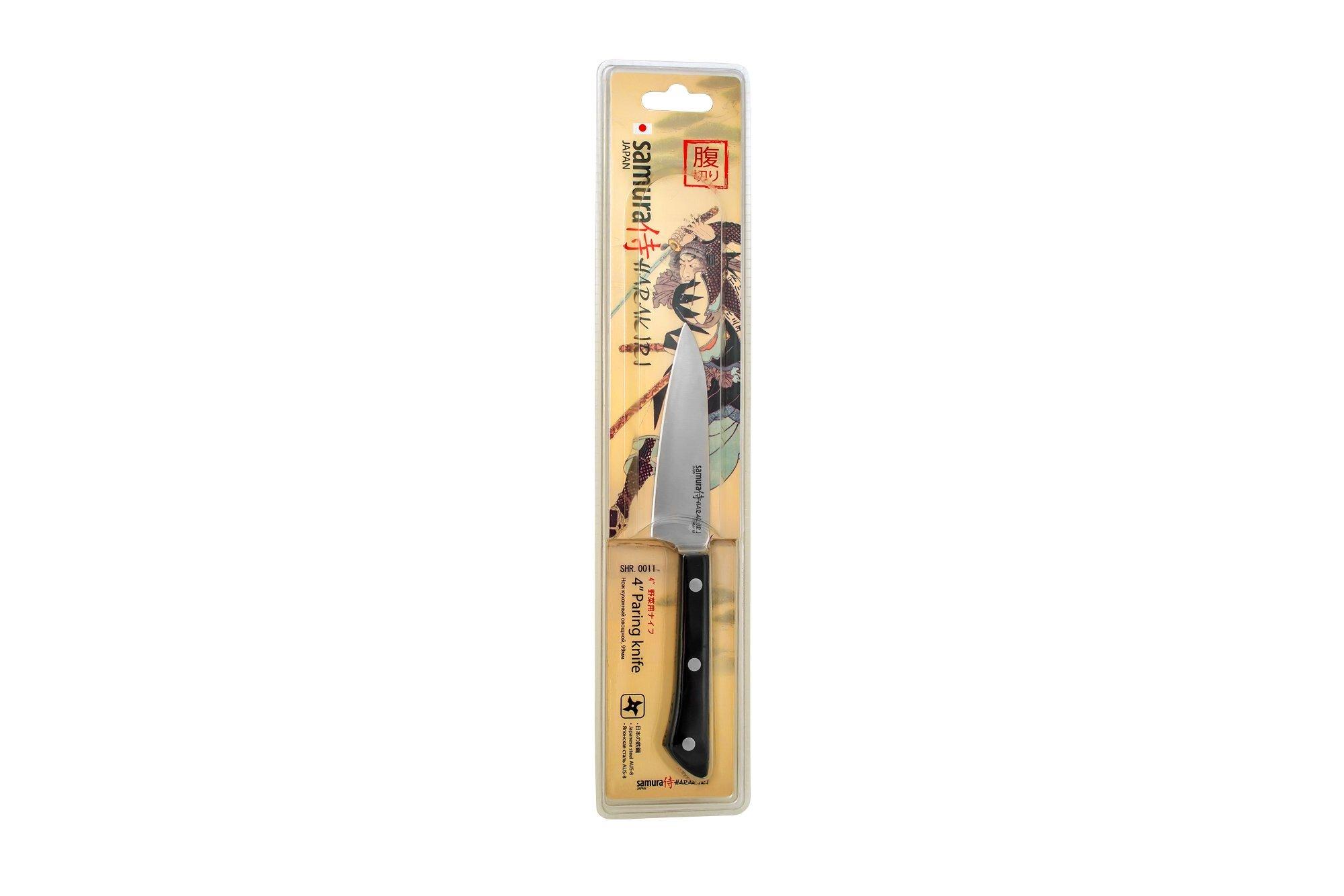Фото 10 - Нож кухонный овощной Samura
