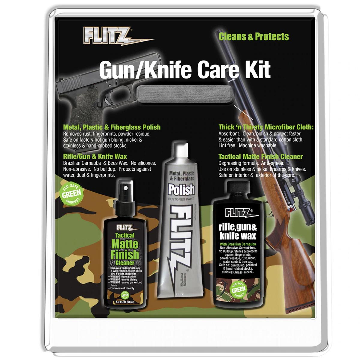 Набор для ухода за оружием и ножами Flitz